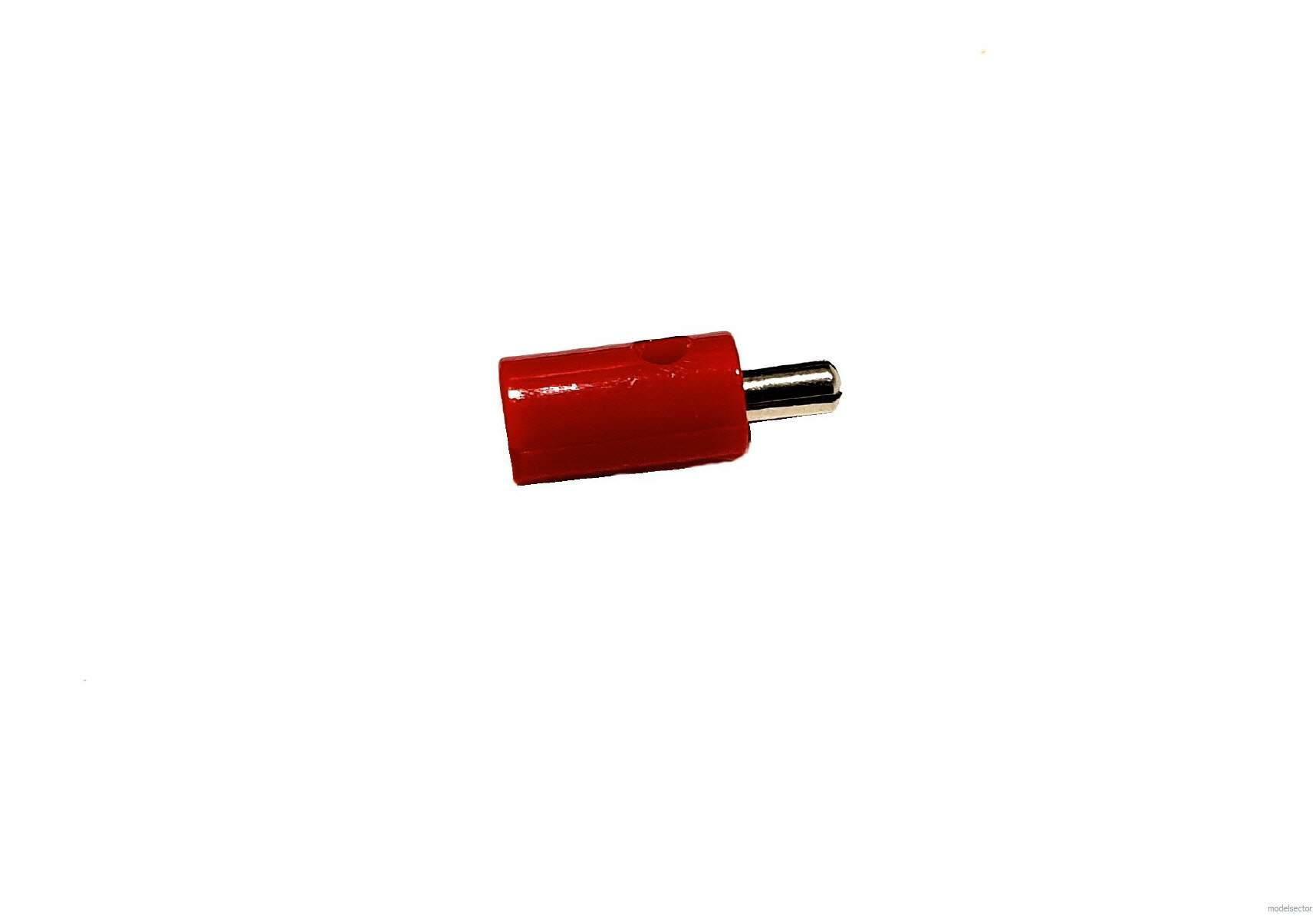Zwergstecker ø2,6mm rot